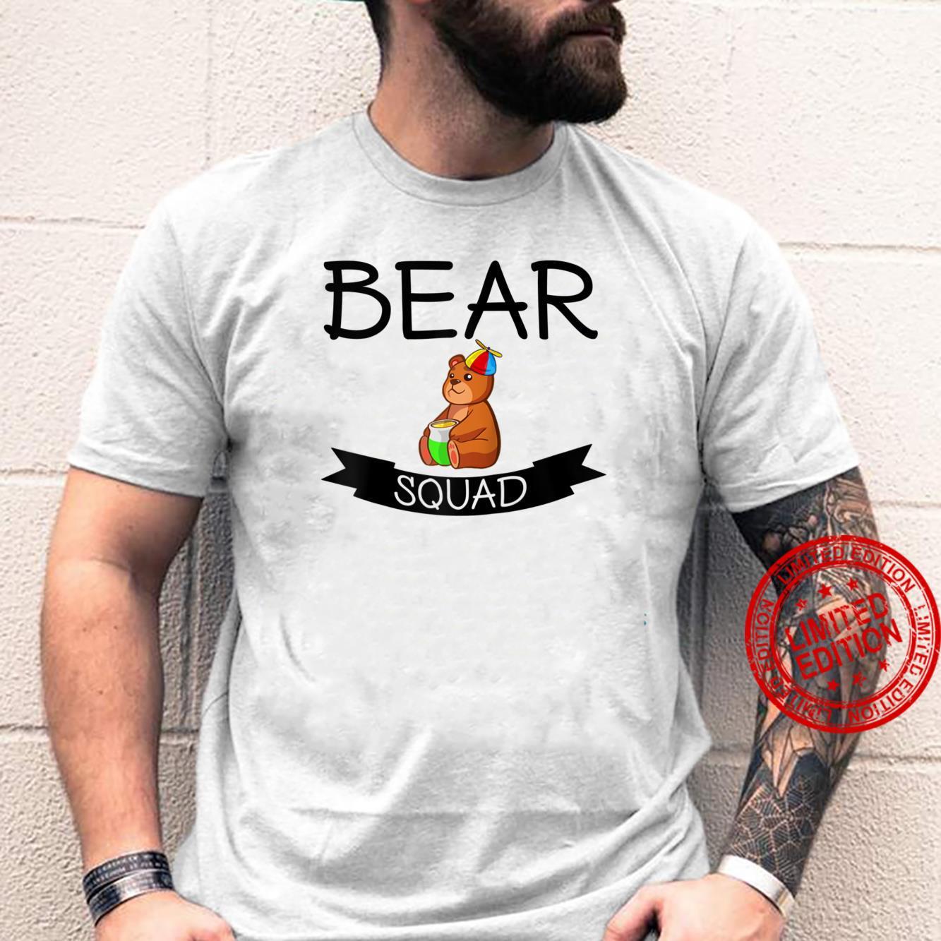 Bear Squad Bear Shirt