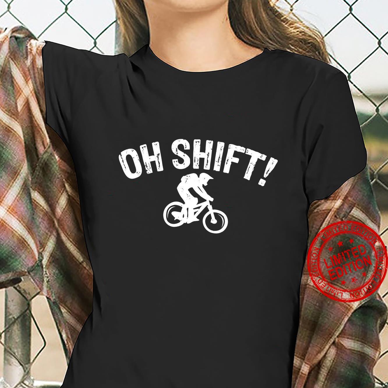 Bicycle Oh Shift Bikes Biker Shirt ladies tee