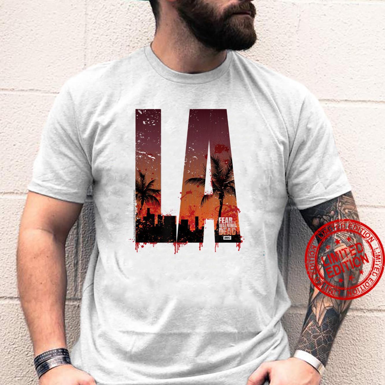 Fear The Walking Dead LA Shirt