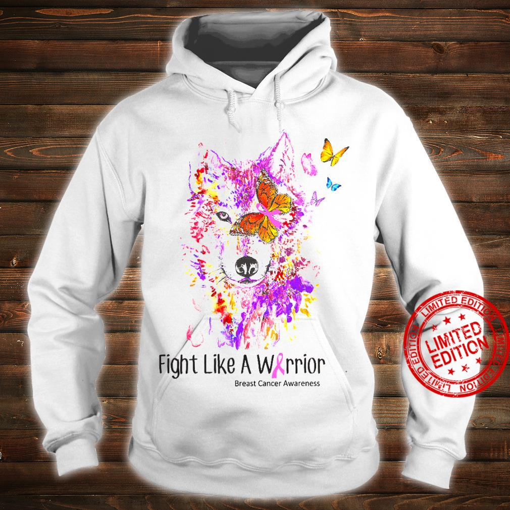 Fight Like A Warrior Breast Cancer Awareness Shirt hoodie