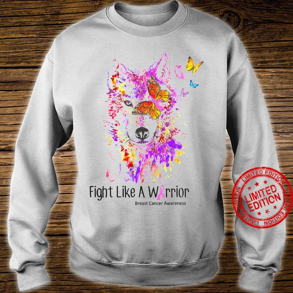 Fight Like A Warrior Breast Cancer Awareness Shirt sweater