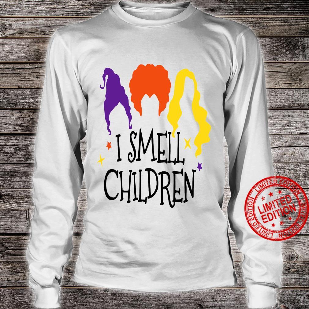 I Smell Chilren Shirt long sleeved