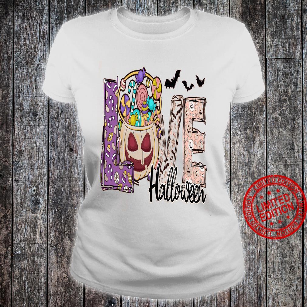 Love Halloween Shirt ladies tee