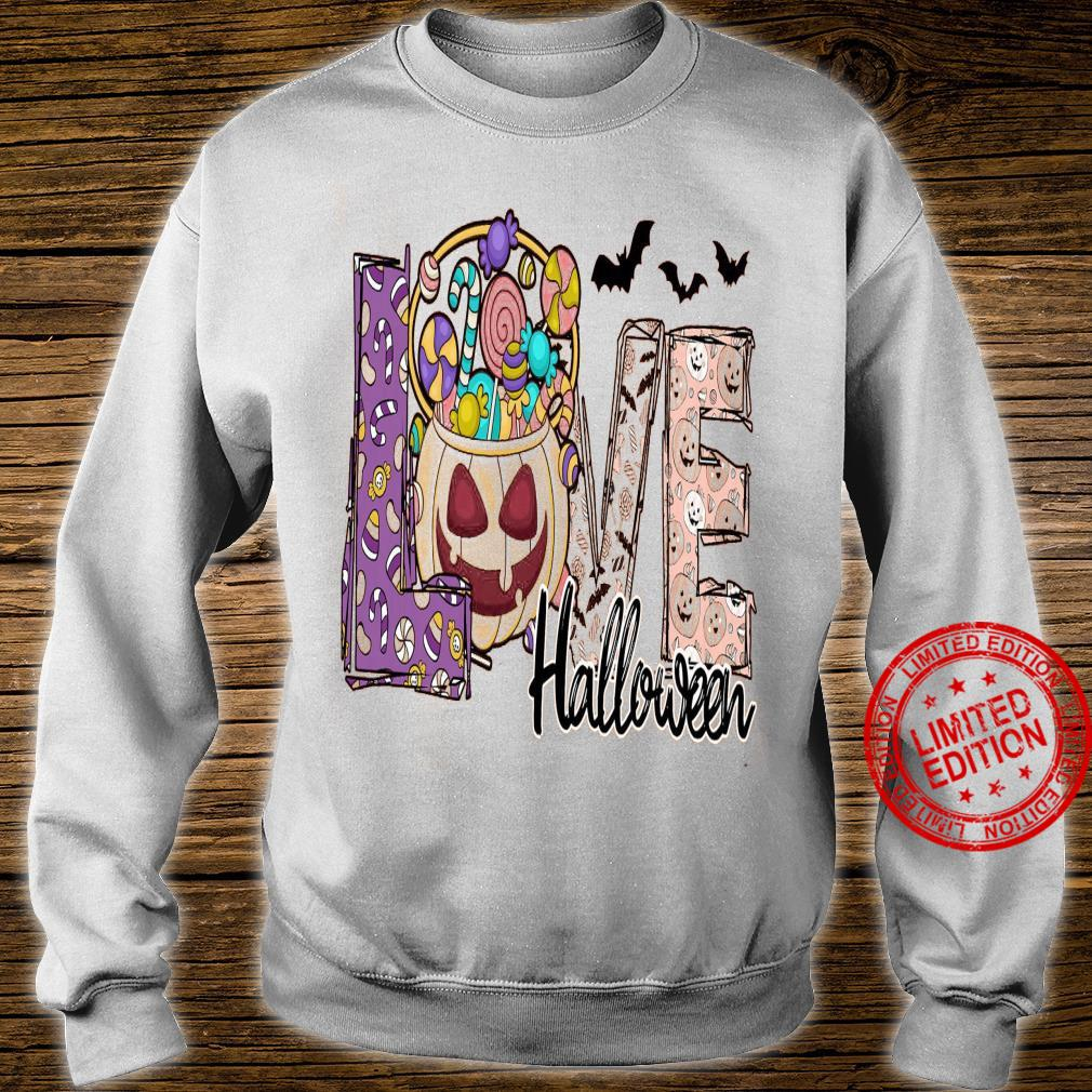 Love Halloween Shirt sweater