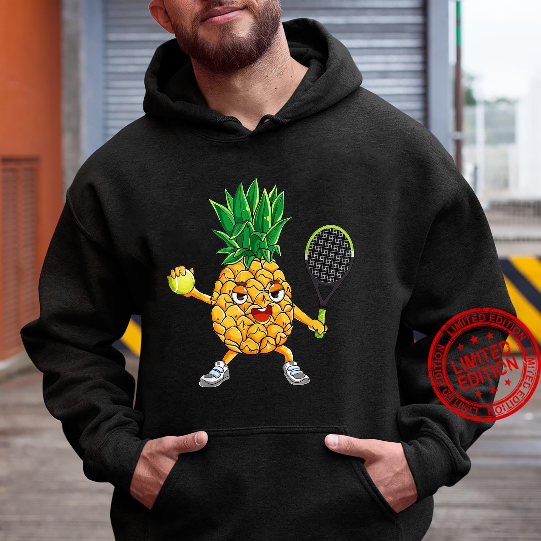 Pineapple Tennis Player Summer Vacation Shirt hoodie