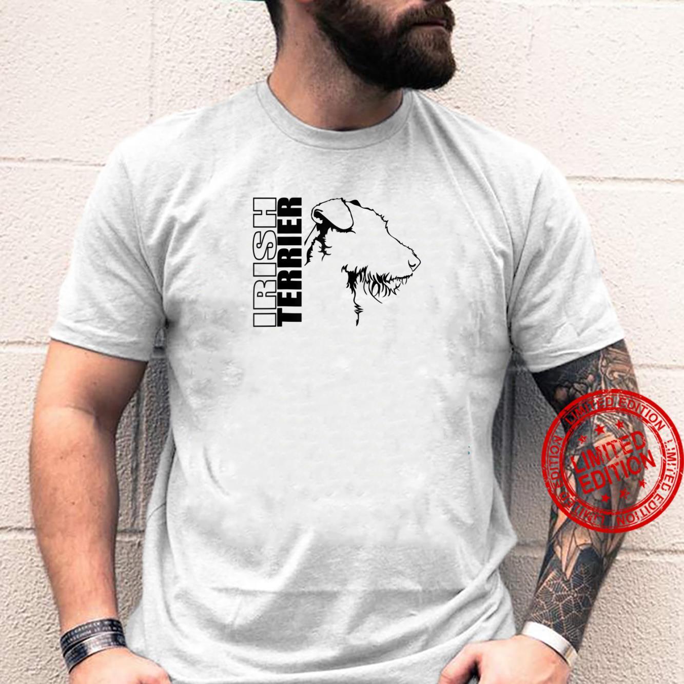 Proud Irish Terrier dog breed profile dog Shirt