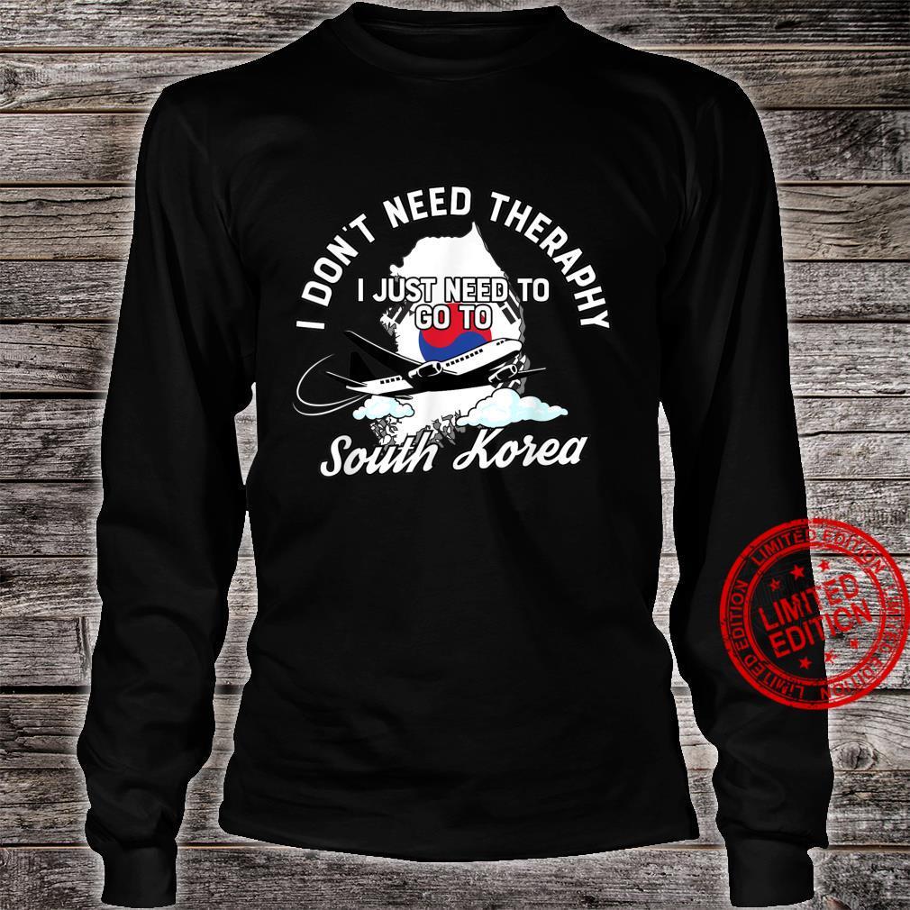 South Korean Flag I South Korea Flag I South Korea Shirt long sleeved