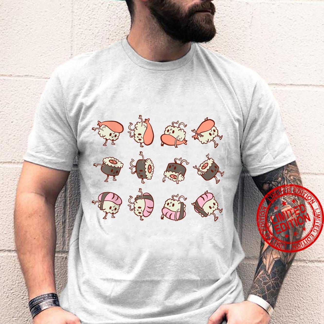 Sushi ROLLS Cute Kawaii Shirt