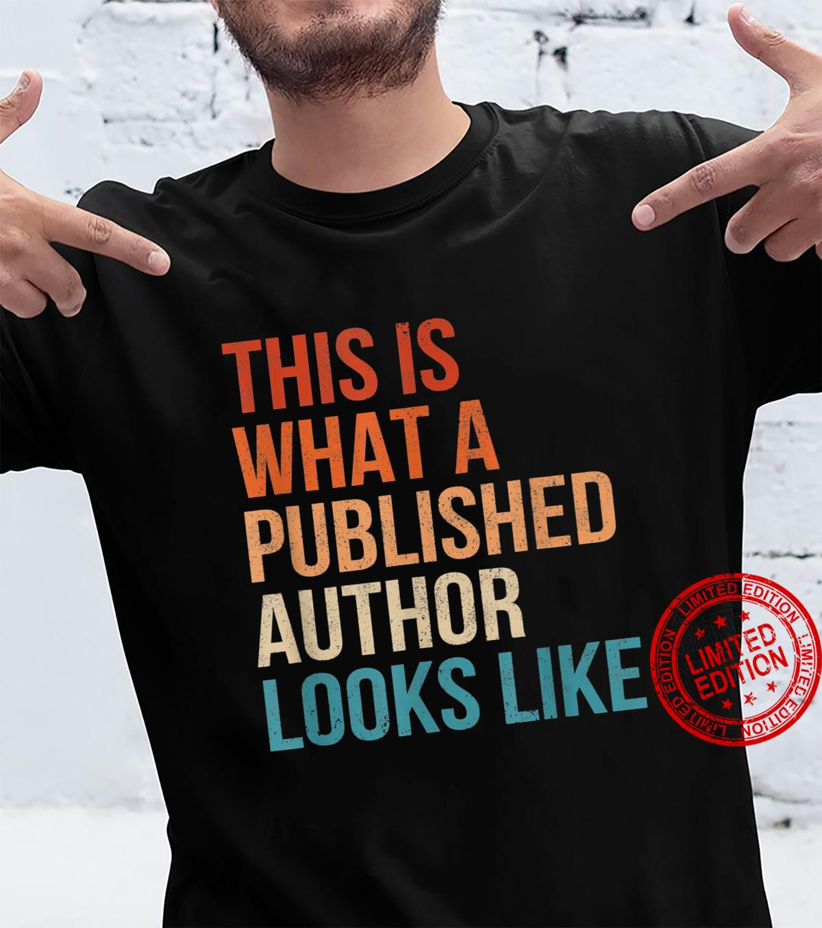 This is What a Published Author Looks Like Vintage Shirt