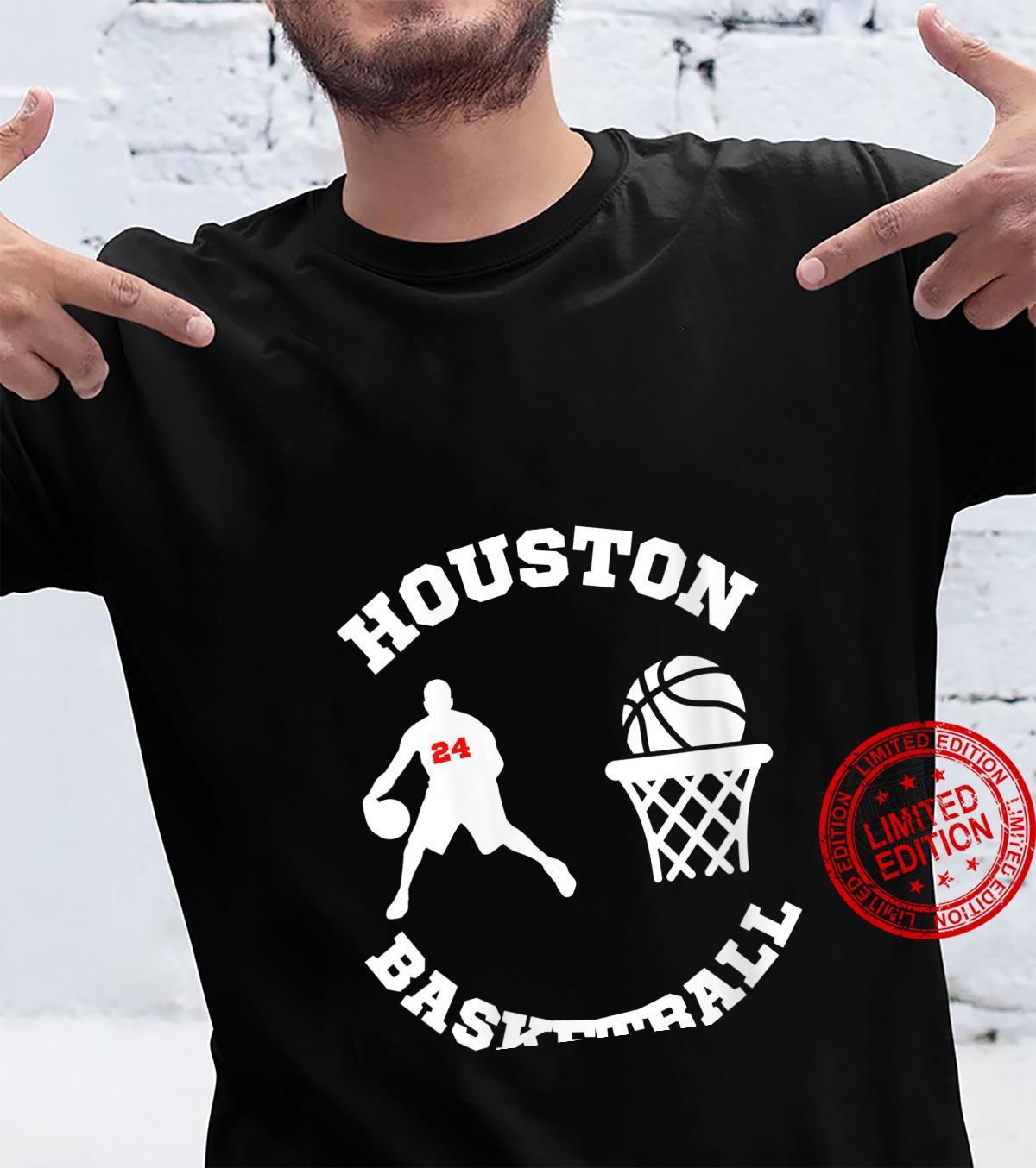 Womens Houston Basketball College Hoops Shirt