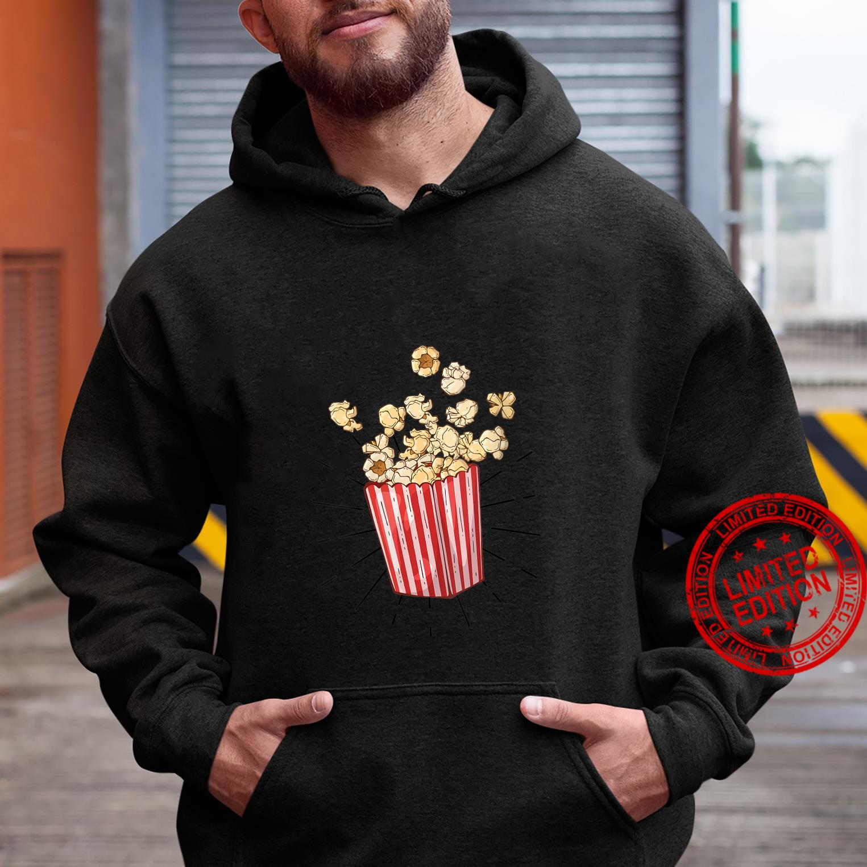 Womens Retro vintage Popcorn for cinema and living room popcorn Shirt hoodie