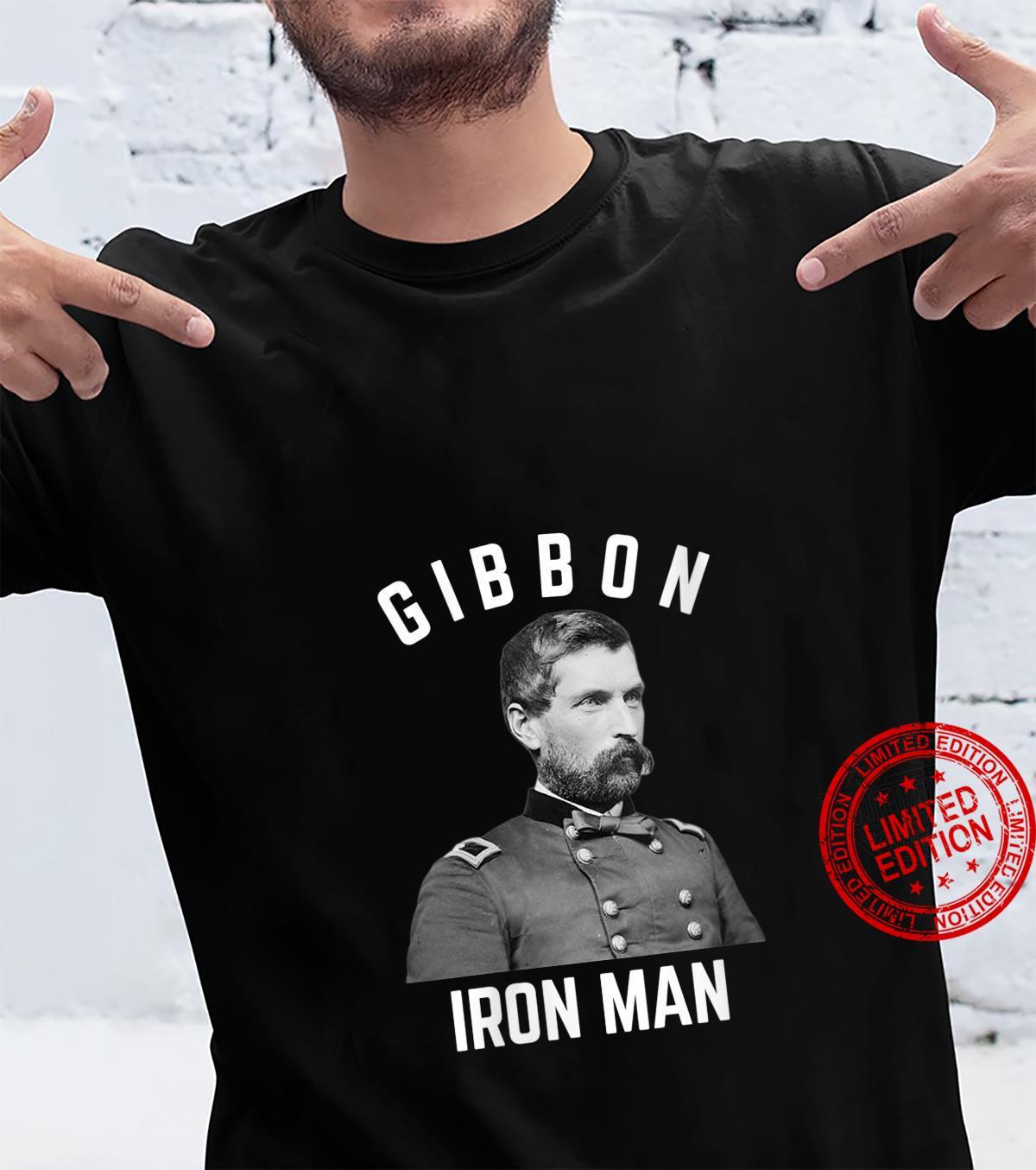 Womens US Civil War General John Gibbon Iron Brigade Shirt