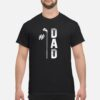 #1 Dad Golf Golfing Father's Day Shirt