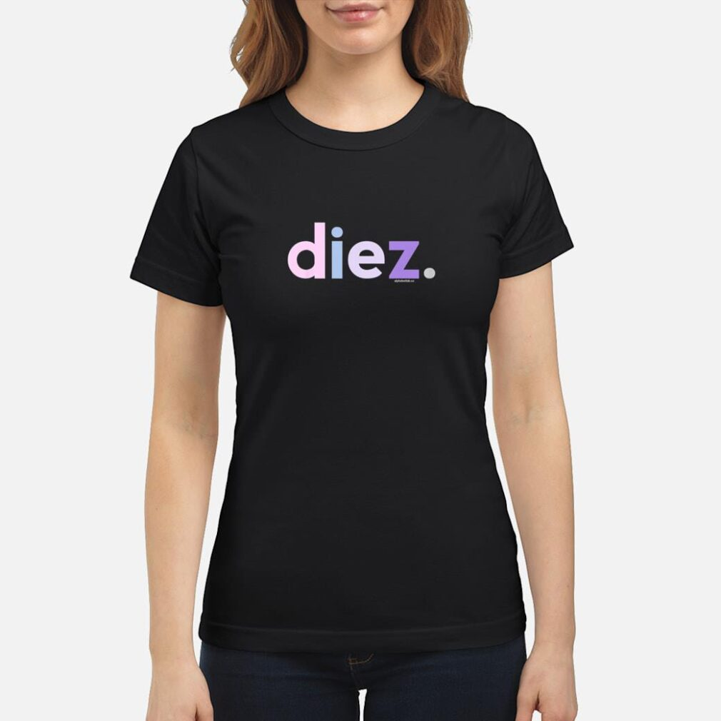 10th Birthday Shirt for Girls 10 Diez Anos Spanish Ideas Shirt ladies tee