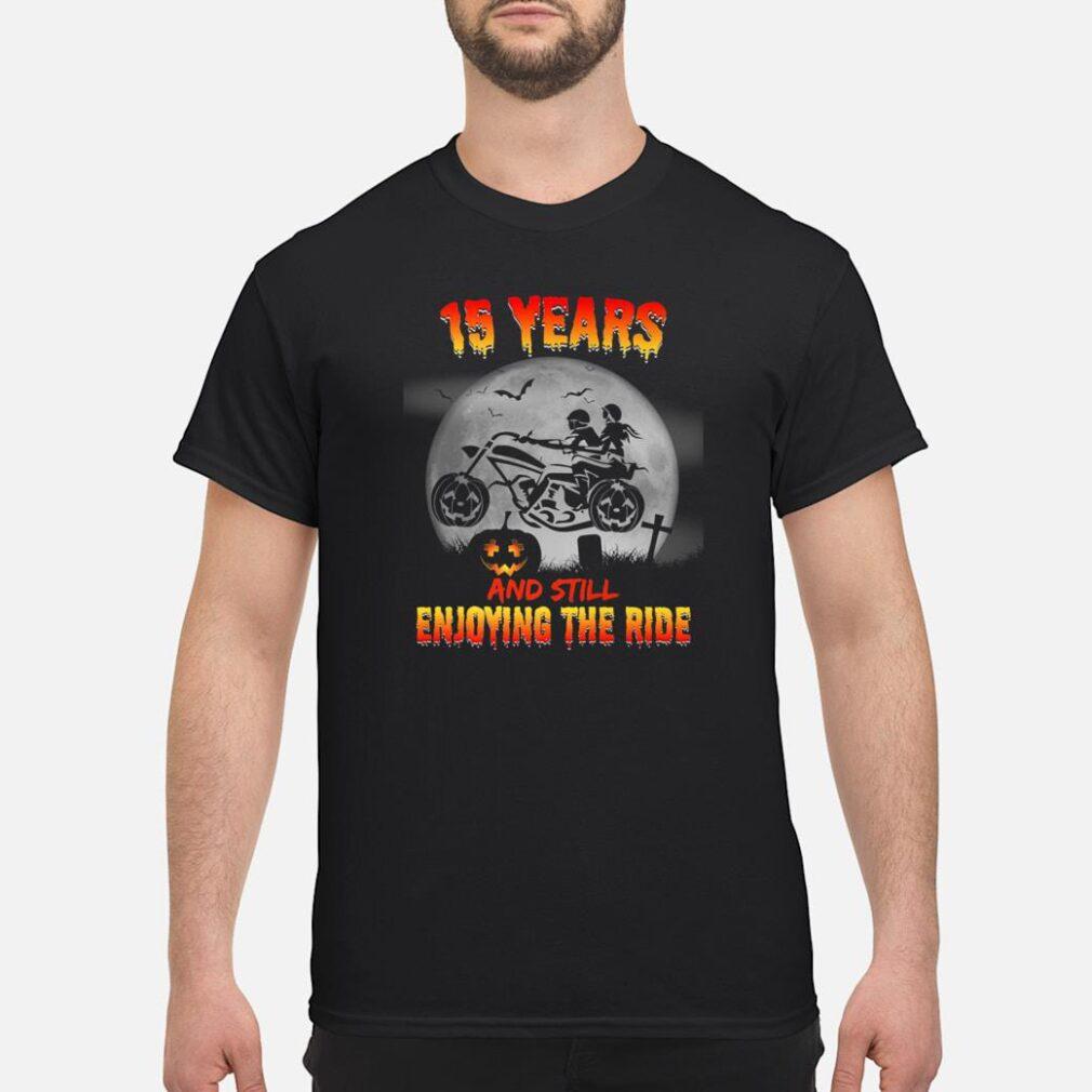 15th Wedding Anniversary Halloween Shirts Shirt