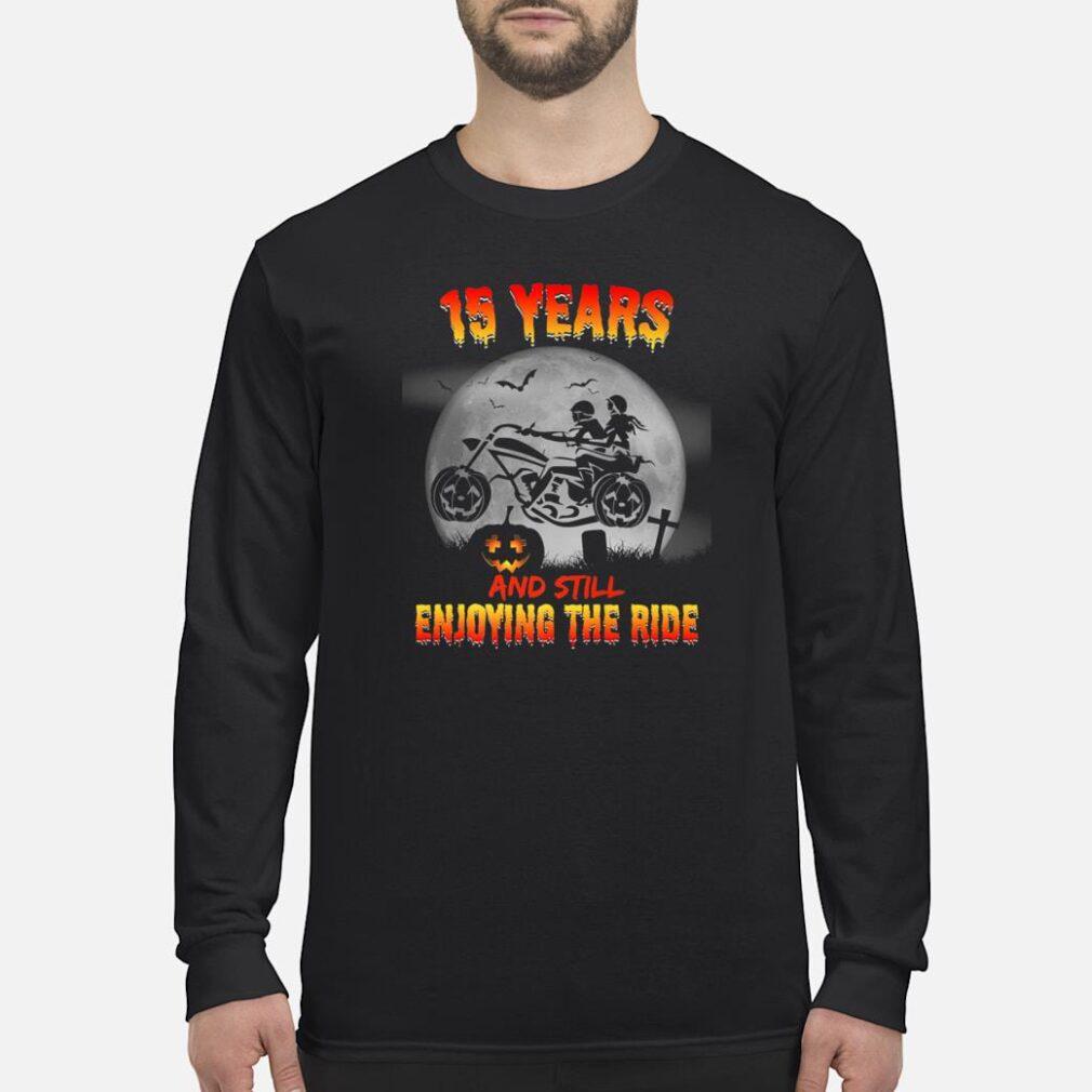 15th Wedding Anniversary Halloween Shirts Shirt long sleeved
