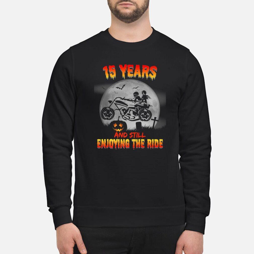 15th Wedding Anniversary Halloween Shirts Shirt sweater