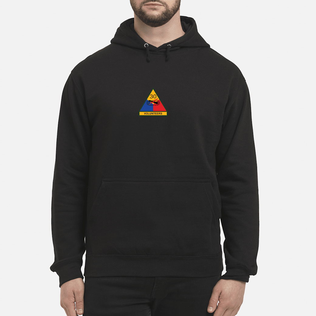 30th Armored Division Shirt hoodie