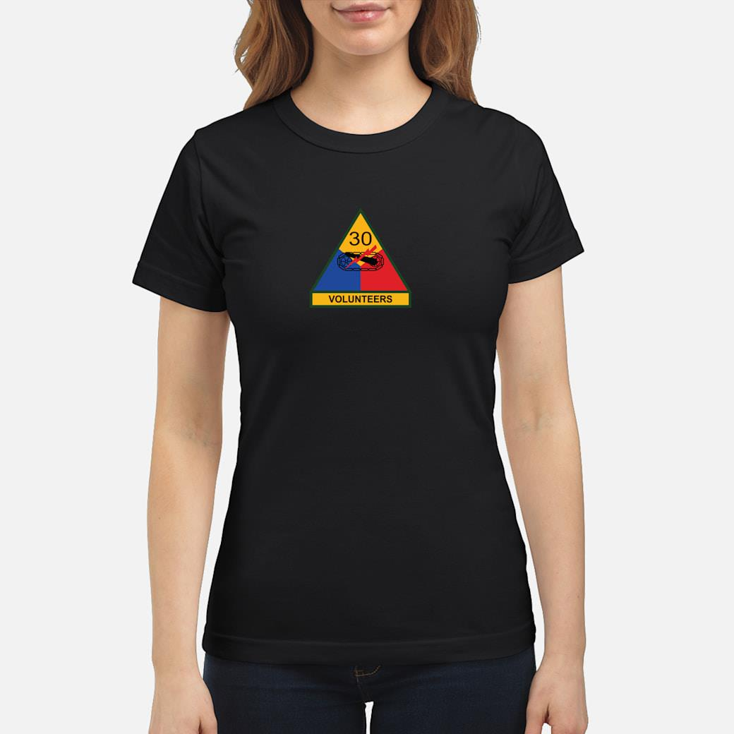 30th Armored Division Shirt ladies tee