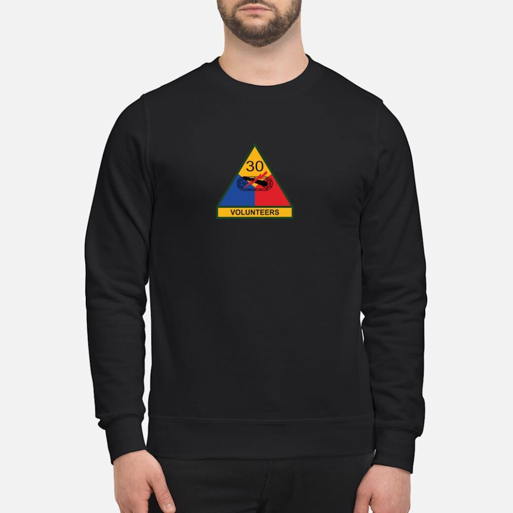 30th Armored Division Shirt sweater