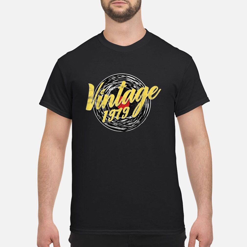 40 GEBURTSTAG DREIßIG RETRO VINTAGE LOOK 1979 Shirt