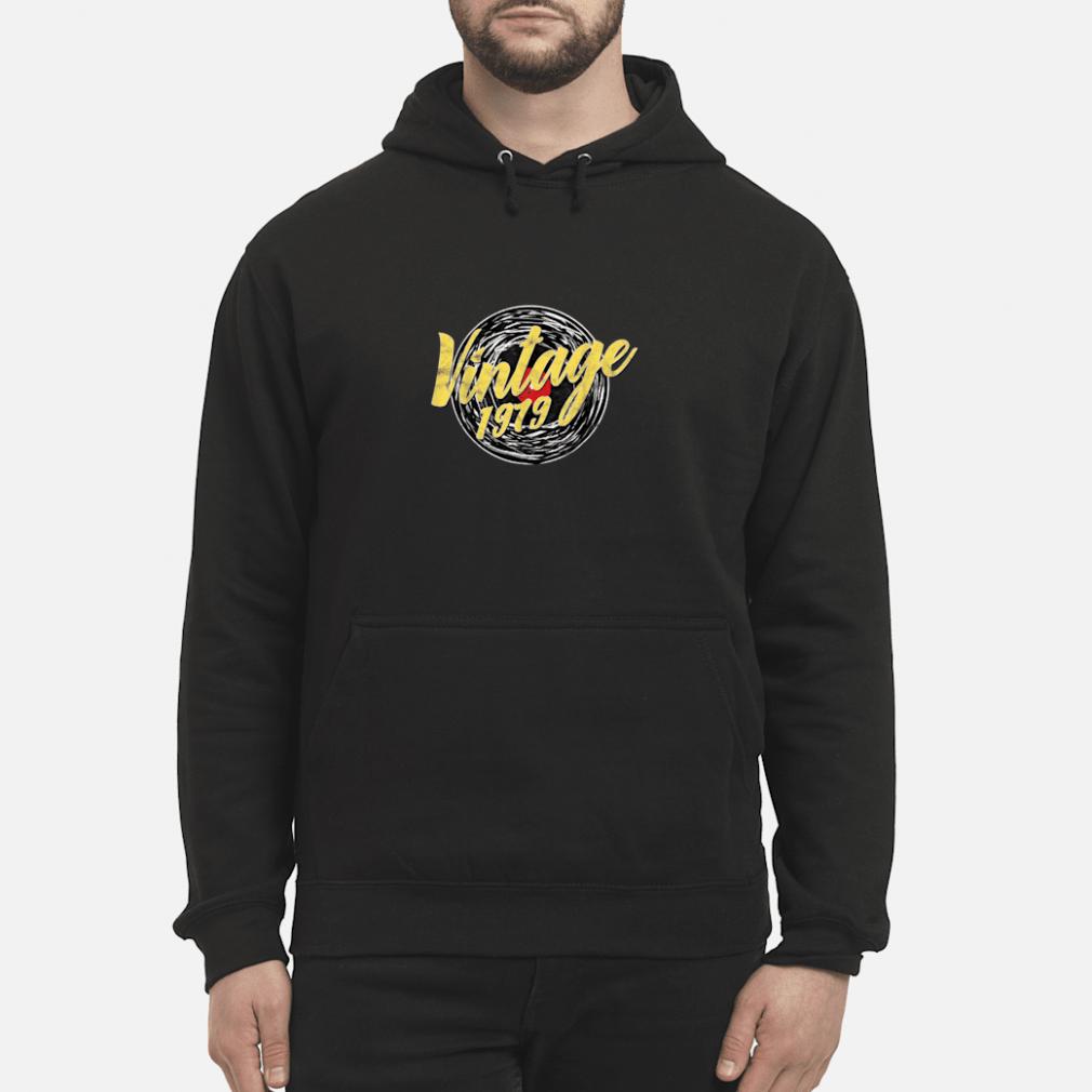 40 GEBURTSTAG DREIßIG RETRO VINTAGE LOOK 1979 Shirt hoodie