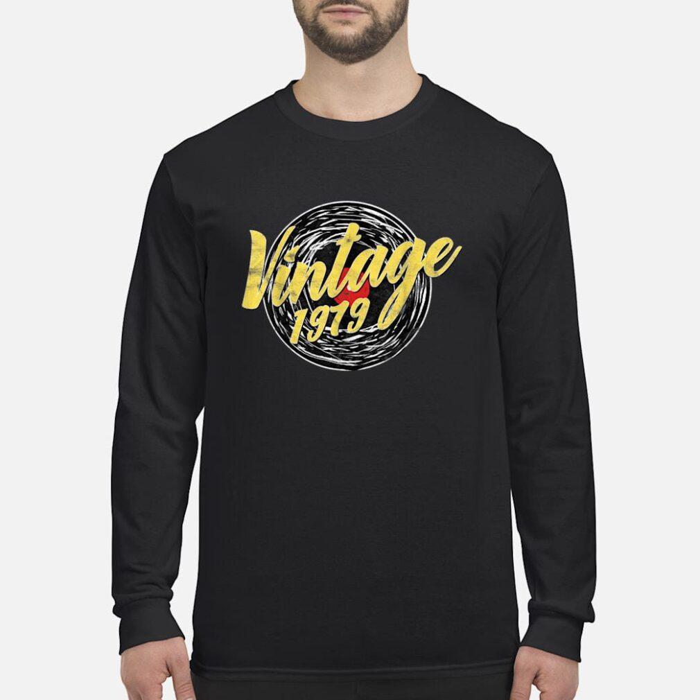 40 GEBURTSTAG DREIßIG RETRO VINTAGE LOOK 1979 Shirt long sleeved