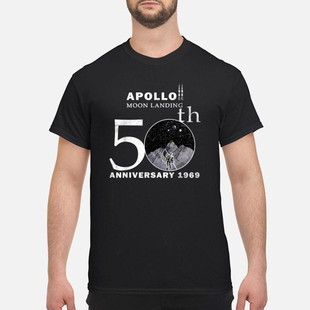 50th Anniversary Apollo 11 First Moon Landing 1969 Astronaut Shirt