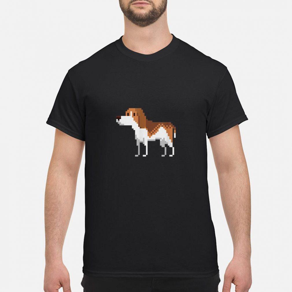 8bit Beagle Dog Shirt