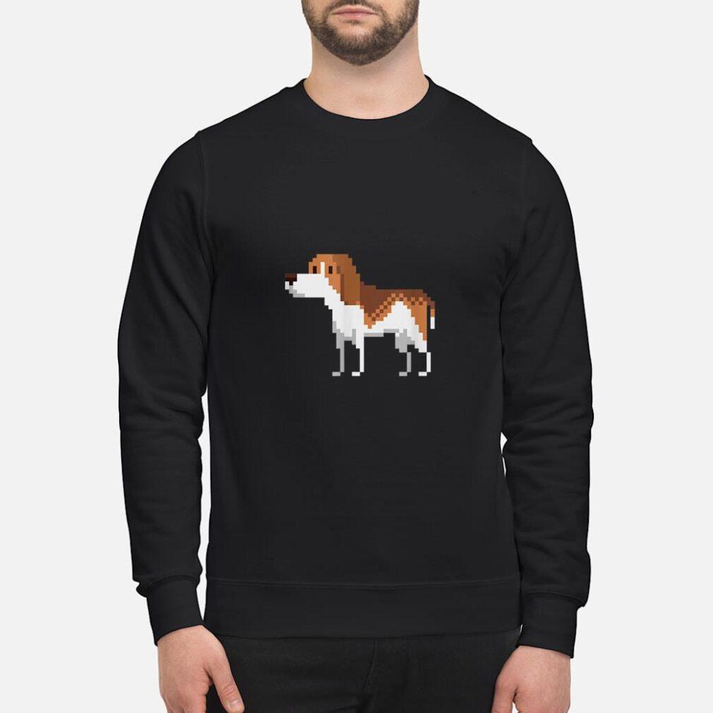 8bit Beagle Dog Shirt sweater