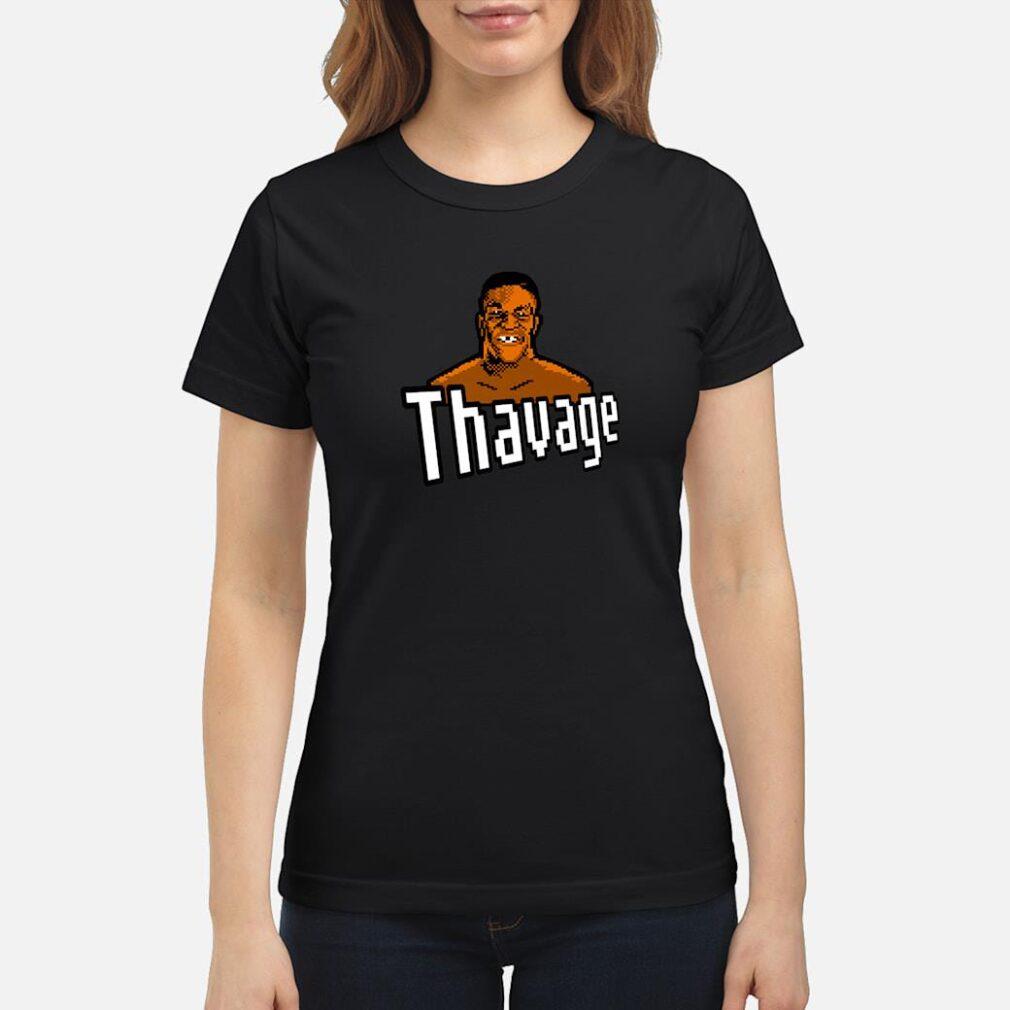 8bit Thavage Casual Wear, Thupreme Boxing Lisp Shirt ladies tee