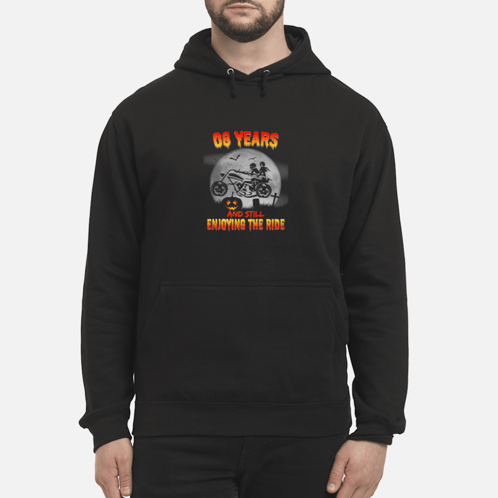 8th Wedding Anniversary Halloween Shirt hoodie