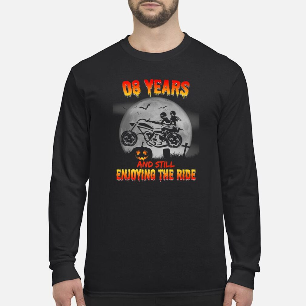 8th Wedding Anniversary Halloween Shirt long sleeved