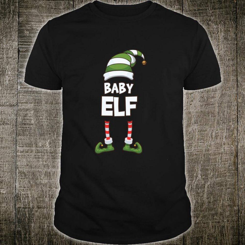 Baby Elf Christmas Holiday Shirt