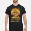 Buddha in mostly peace love and light a little go fuck yourself shirt