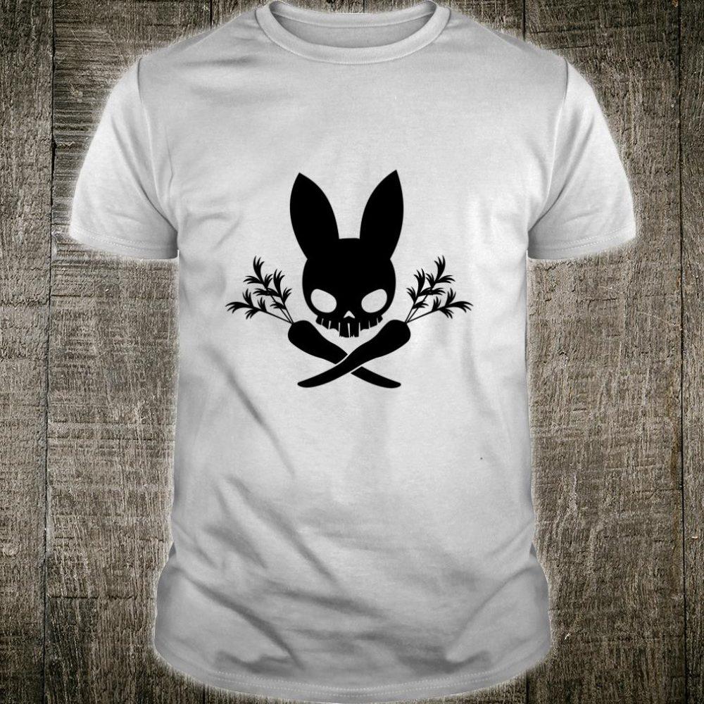 Bunny Skull & Carrot Crossbones Shirt Shirt