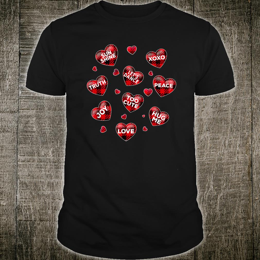 Cute Valentine's Day Heart Candy Costume Mommy Shirt