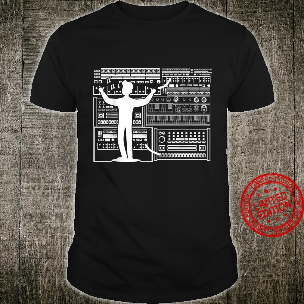 Electronic Modular Life Wellenform Synth Nerd Synthesizer Shirt
