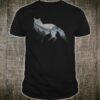 Fox Wilderness Double Exposure Wild Life Shirt