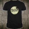 Frickin' Spoopy Vintage Distressed Raven Full Moon Halloween Shirt