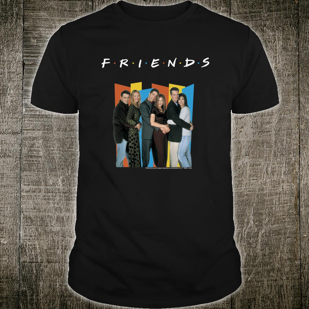 Friends Title Logo Group Panels Shirt