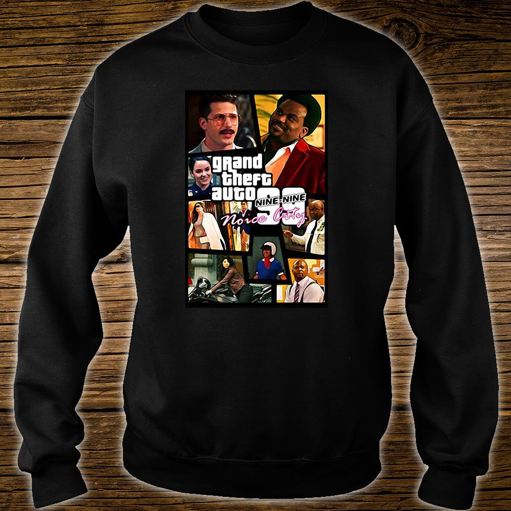 Grand theft auto nine-nine noice city shirt sweater