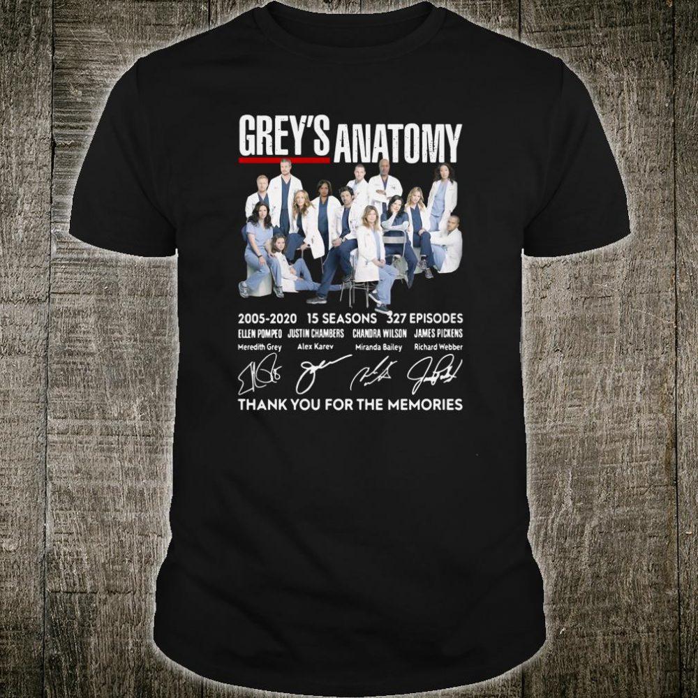 Grey's Anatomy signature shirt