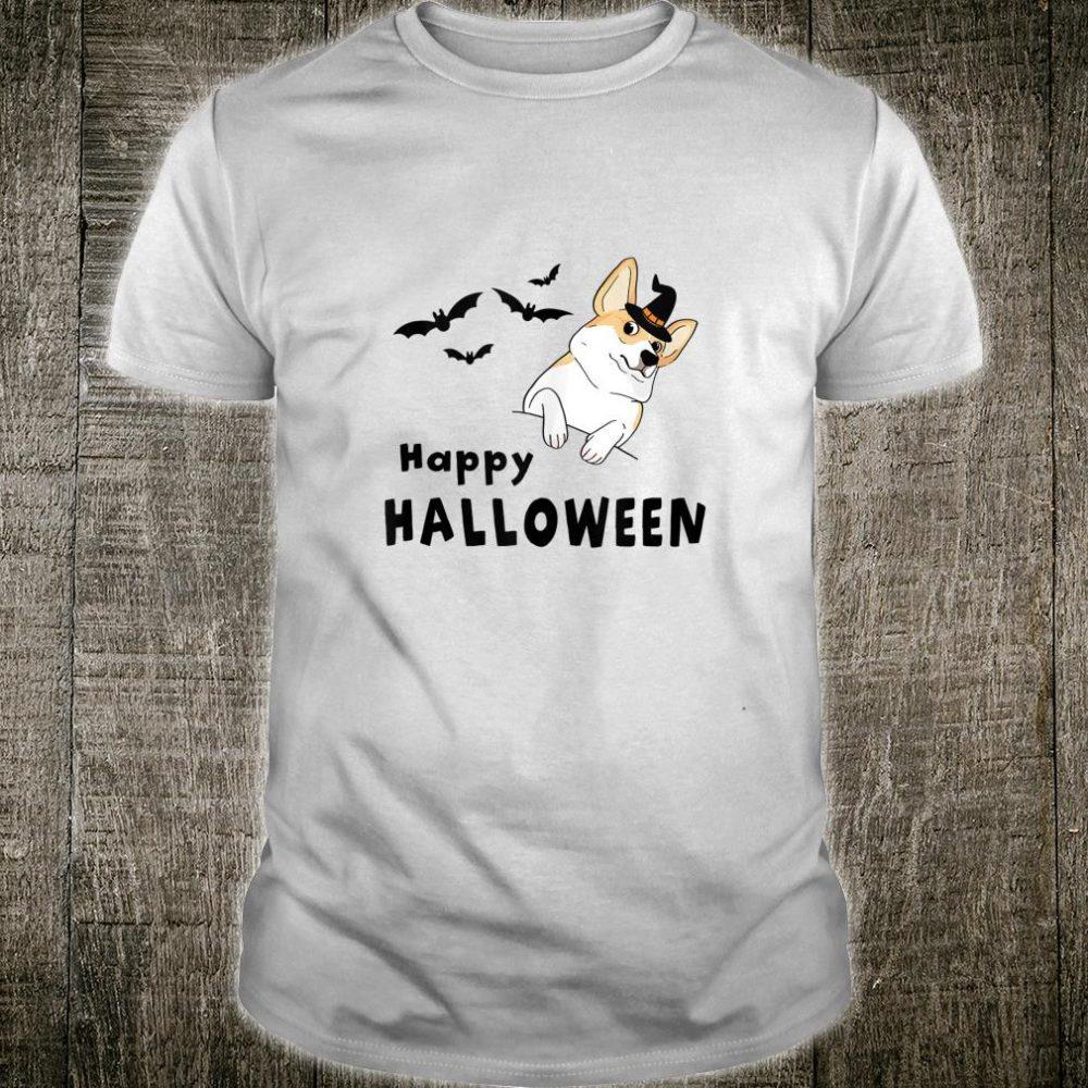 Happy Halloween with Corgi Shirt