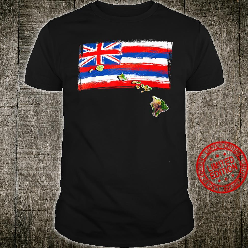 Hawaiian Islands Hawaii Flag Shirt