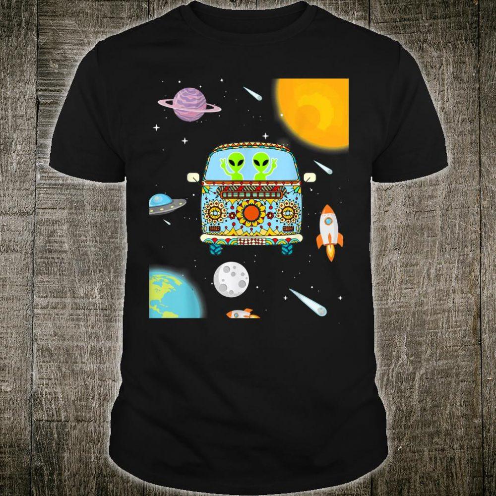 Hippie Alien Space Halloween Costume Alien Shirt
