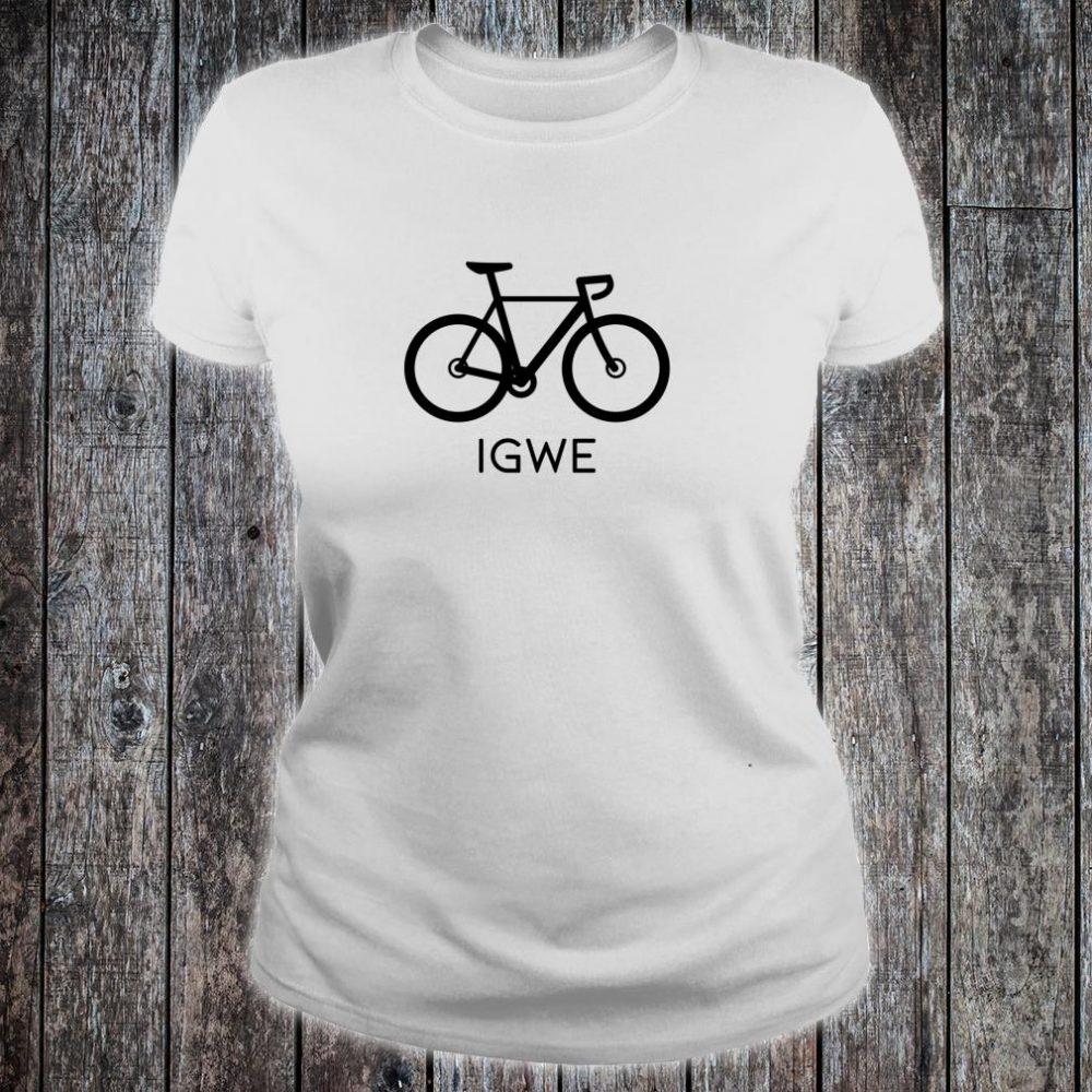 Igwe Bicycle Shirt ladies tee