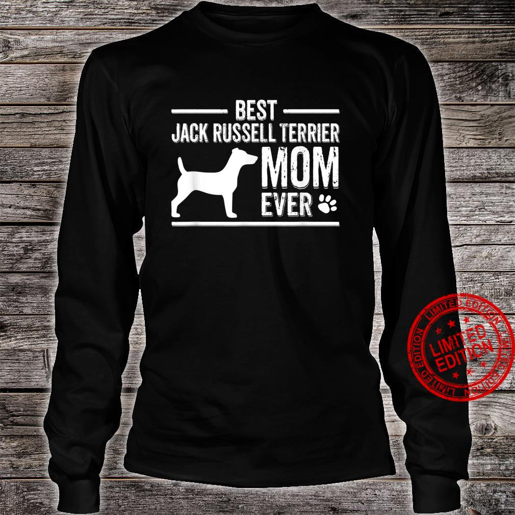 Jack Russell Terrier Shirt long sleeved