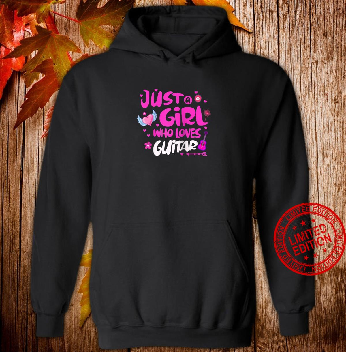Just a Girl Who Loves Guitar Shirt hoodie