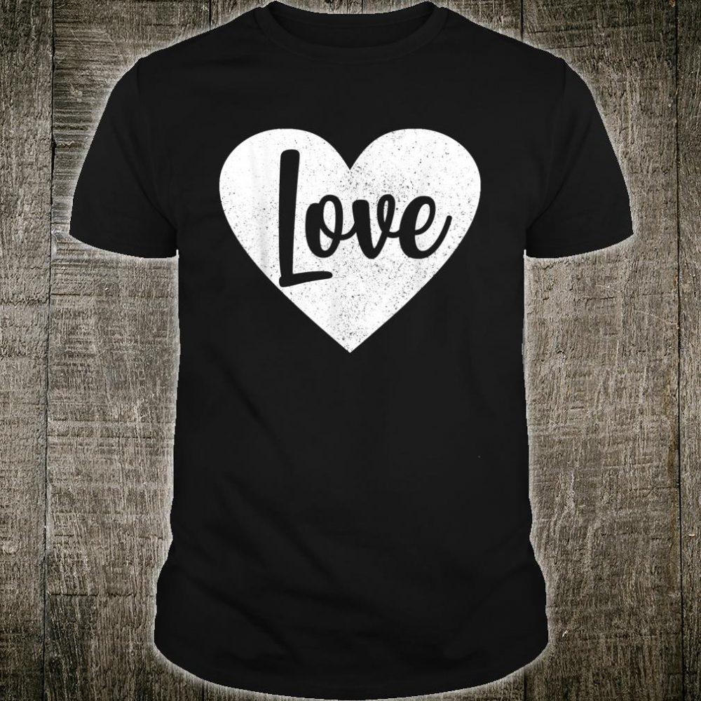 Love Heart Valentine Girlfriend Matching Girls Fun Shirt